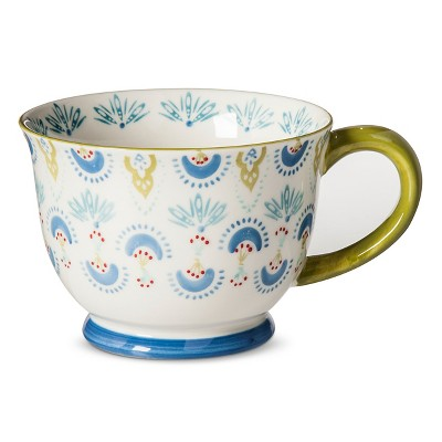 Chloe Print Coffee Mug Set 4-pc - Multicolored