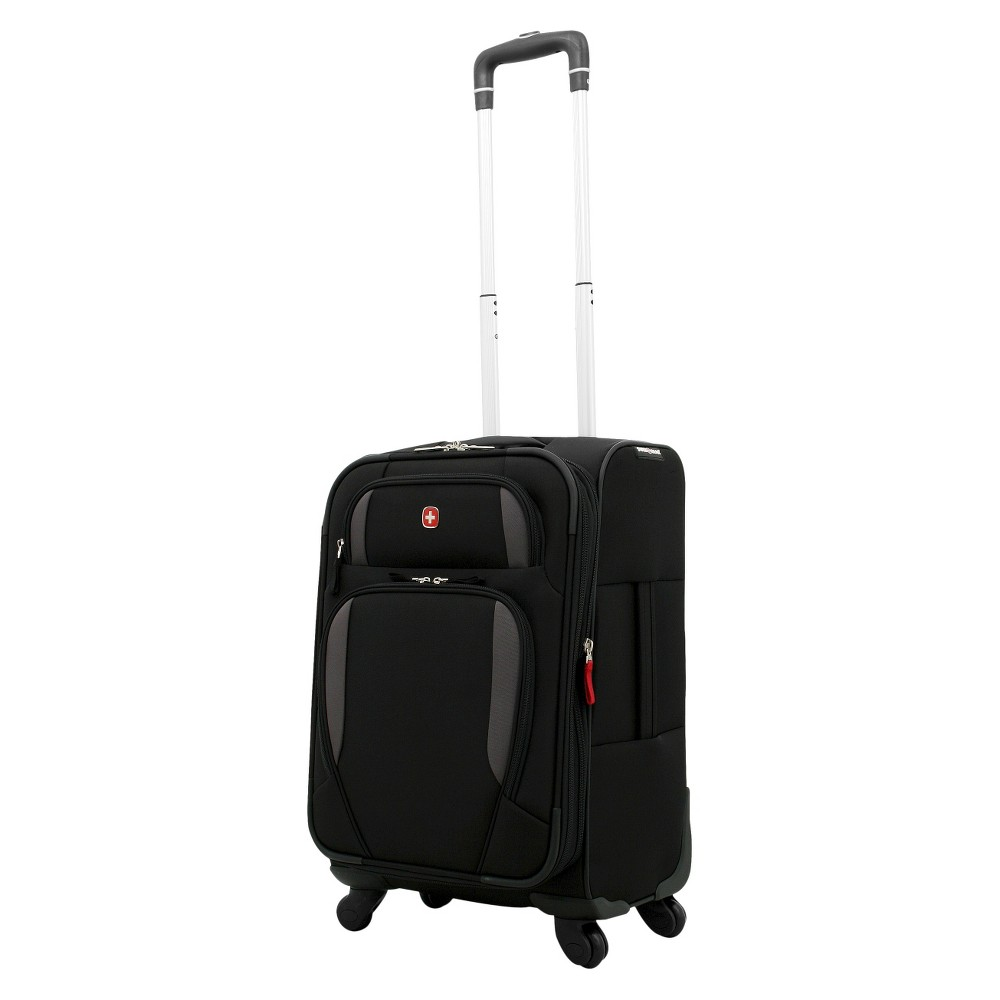 Swissgear Lugano Liteweight 21 Carry On Suitcase Black