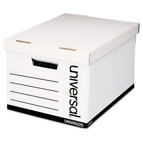Box File White Universal Office - image 1 of 1