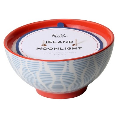 Ceramic Bowl Candle Island Moonlight 10oz - Bella by Illume®