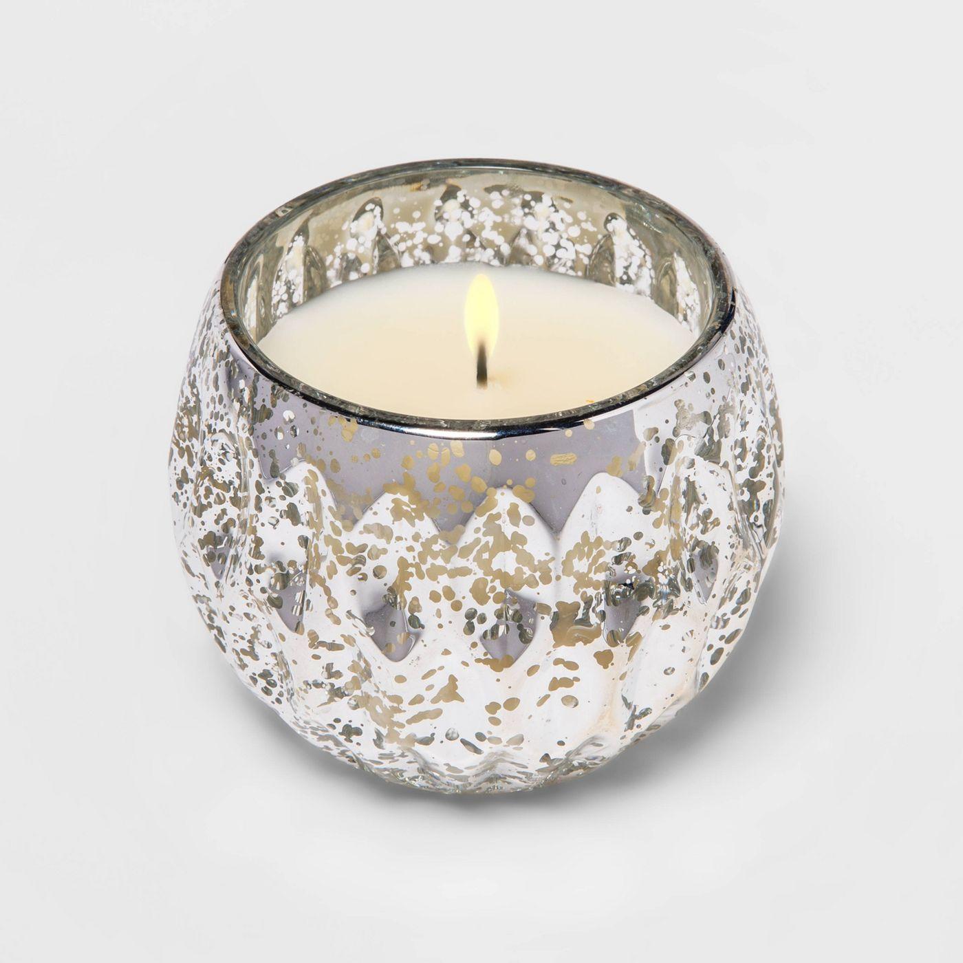 2.72oz Glass Mercury Round Candle - Threshold™ - image 2 of 4