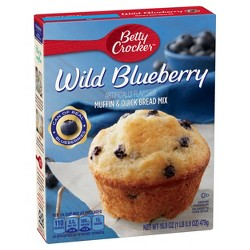 Betty Crocker Blueberry Muffin Mix -16.9oz