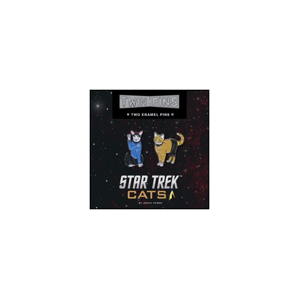 Star Trek Cats Twin Pins (Accessory) (Jenny Parks)