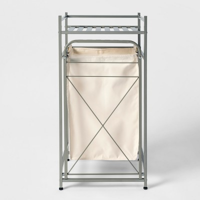 Square Tube Metal Laundry Hampers And Sorters Brushed Nickel Laundry Hampers And Sorters Brushed Nickel - Threshold™