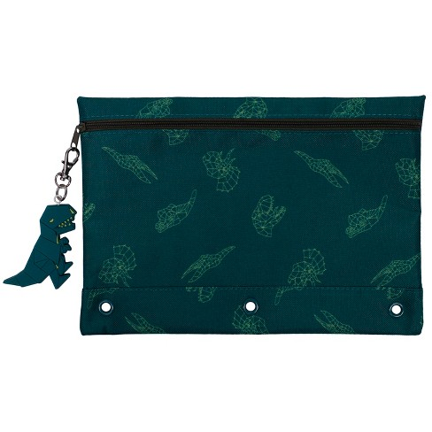 Pencil Case Green Dino - Cat & Jack™ Green - image 1 of 2