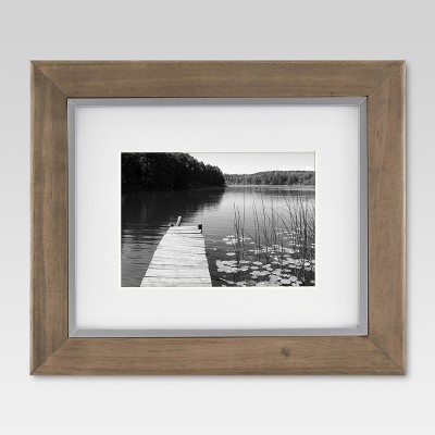 Single Image Frame 8X10 Brown - Threshold™
