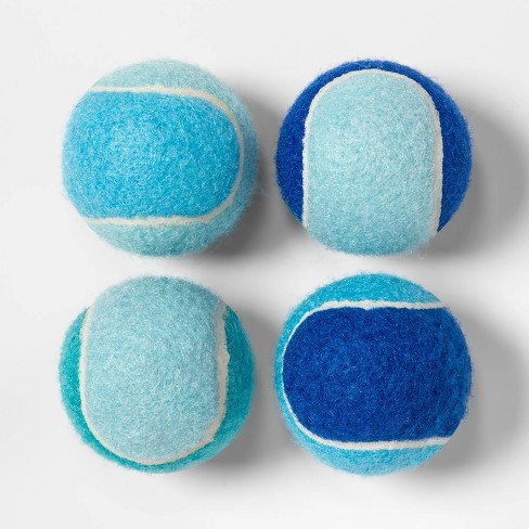 Keeping It Cool Tennis Ball Dog Toy - 4pk - Boots & Barkley™ - image 1 of 2