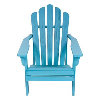 Westport II Adirondack Chair - Aqua - Shine Company Inc.