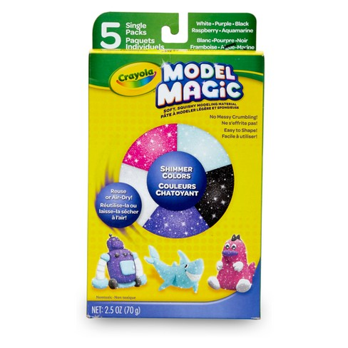 Model Magic Modeling Clay 5ct Shimmer - Crayola - image 1 of 6