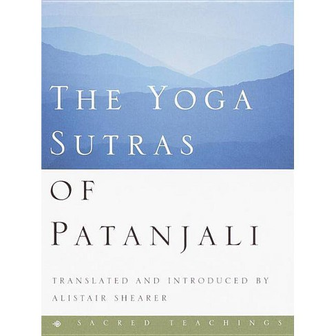 The Yoga Sutras of Patanjali - (Sacred Teachings) by  Alistair Shearer (Hardcover) - image 1 of 1