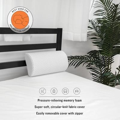 SensorPEDIC Conforming Memory Foam Any Position Bolster Pillow