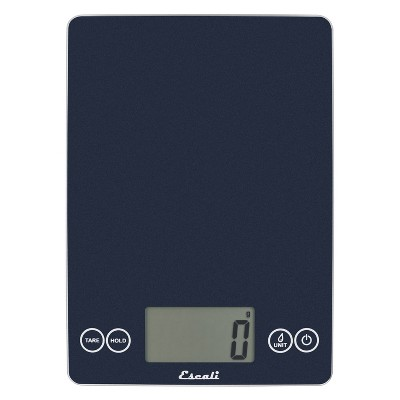 Escali Glass Arti Digital Kitchen Scale Blue