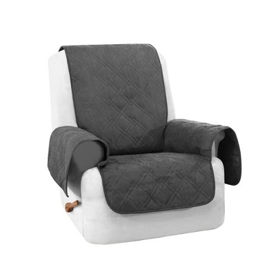 Non-Slip Waterproof Suede Furniture Protector Recliner - Sure Fit
