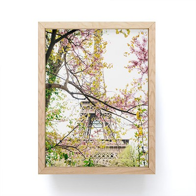 Bethany Young Photography Eiffel Tower IX Framed Mini Art - Society6