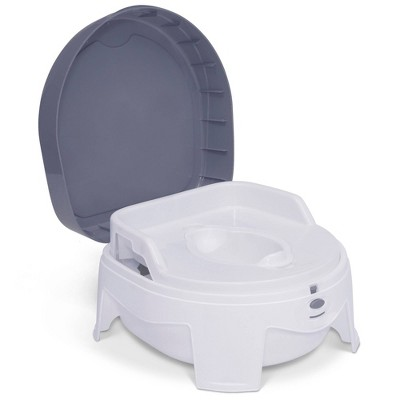 Delta Children PerfectSize 3-in-1 Potty Made with Eco-Friendly Recycled Ocean Material