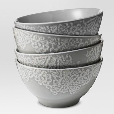 Tilla Stoneware Cereal Bowls 17oz - Set of 4 - Threshold™