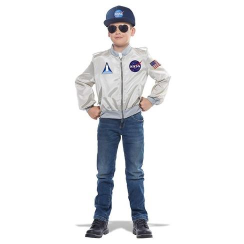 California Costumes NASA Child Costume Flight Jacket - image 1 of 1