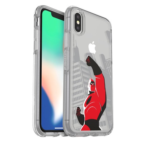 finest selection 666b0 b96f6 OtterBox Apple iPhone X Disney Symmetry Case - Mr. Incredible