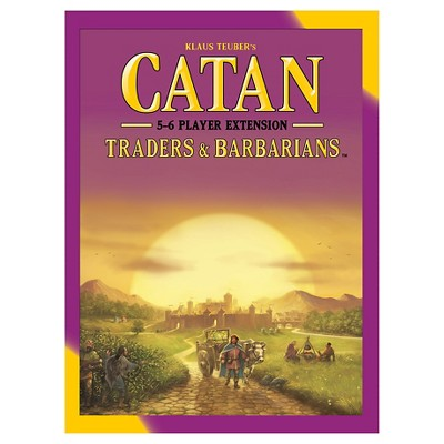 Catan Strategy Board Game Traders & Barbarians 5-6 Player Fifth Edition Expansion Pack