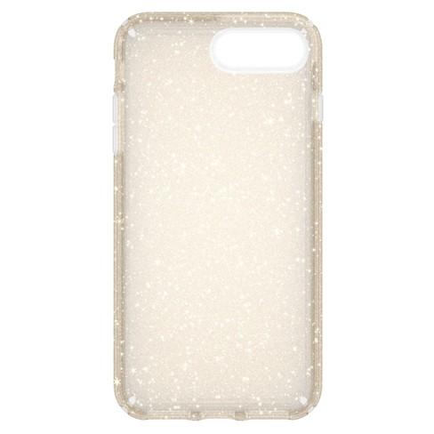 online store b2f6c eee31 Speck iPhone 8 Plus/7 Plus/6s Plus/6 Plus Case Presidio - Gold Glitter