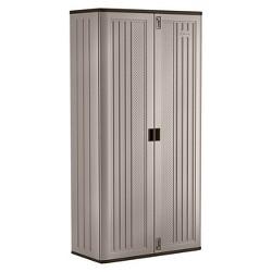 Suncast Mega Tall Utility Storage Cabinet