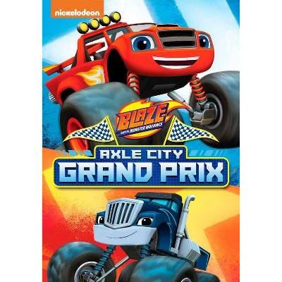 Blaze & The Monster Machines: Axle City Grand Prix (DVD)(2021)