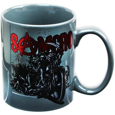 Just Funky Sons of Anarchy SAMCRO Reaper Motorcycle 22oz Coffee Mug