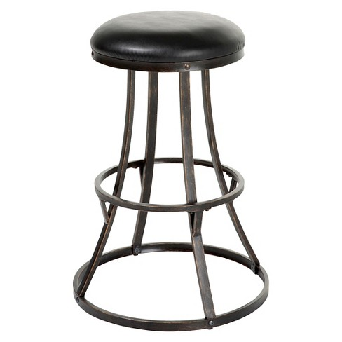 "Dover 30"" Barstool Metal/Blackened Bronze - Fashion Bed Group - image 1 of 4"