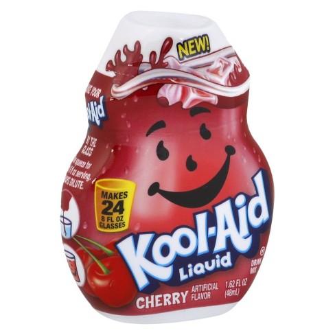 Kool-Aid Cherry Liquid Water Enhancer - 1 62 fl oz Bottle