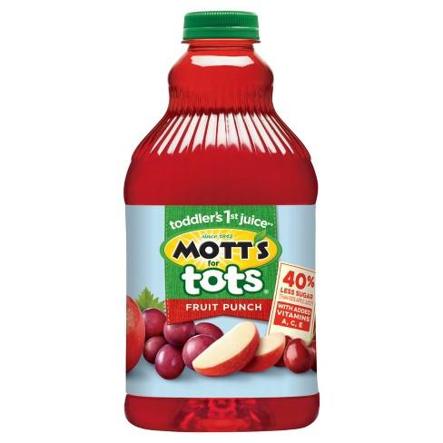 Mott's for Tots Fruit Punch - 64 fl oz Bottle - image 1 of 2