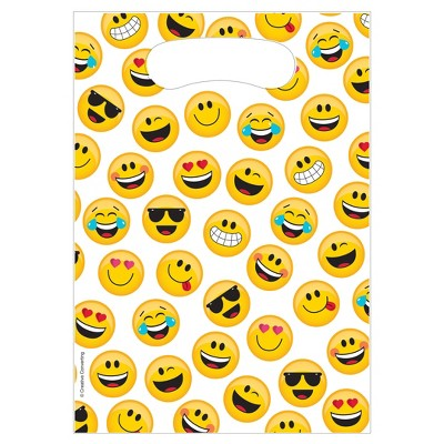 8ct Show Your Emojions Favor Bags