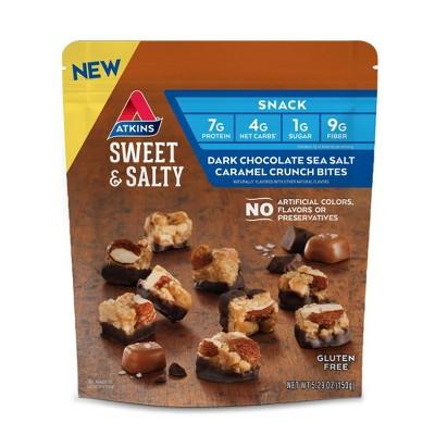 Atkins Sweet and Salty Bites - Chocolate Caramel - 5.29oz