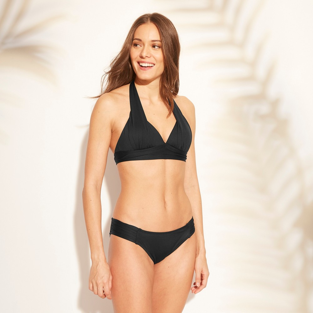 Women's Halter Bikini Top - Kona Sol Black XS, Jet Black