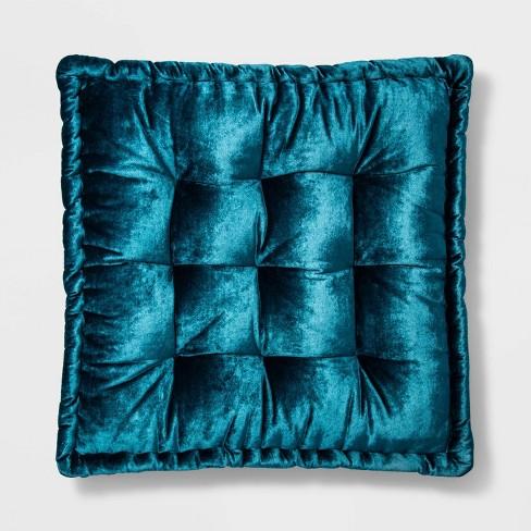 Velvet Floor Oversize Square Throw Pillow - Opalhouse™ - image 1 of 3