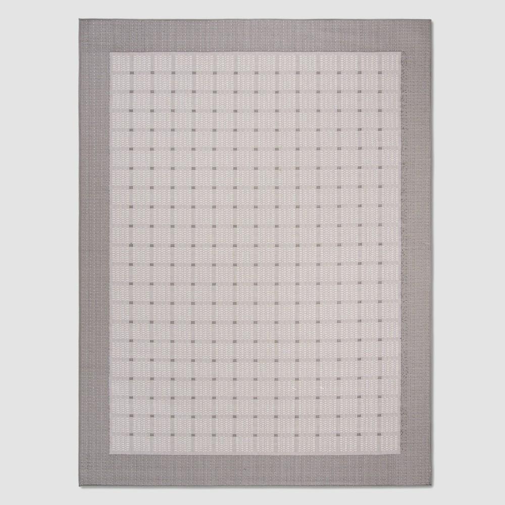 Alene 8' x 10' Outdoor Rug Gray/Ivory - Safavieh, Gray White