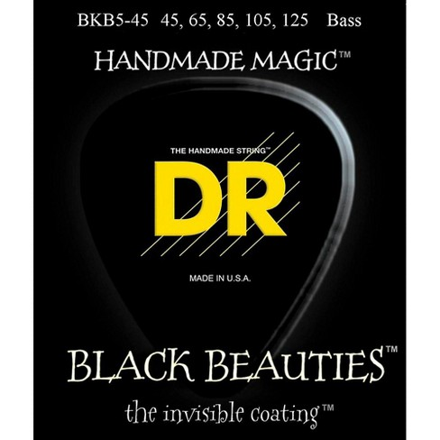 DR Strings Black Beauties Medium 5-String Bass Strings - image 1 of 1
