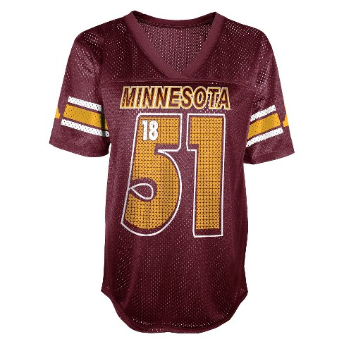 NCAA Minnesota Gophers Juniors' Football Jersey - Maroon - image 1 of 1