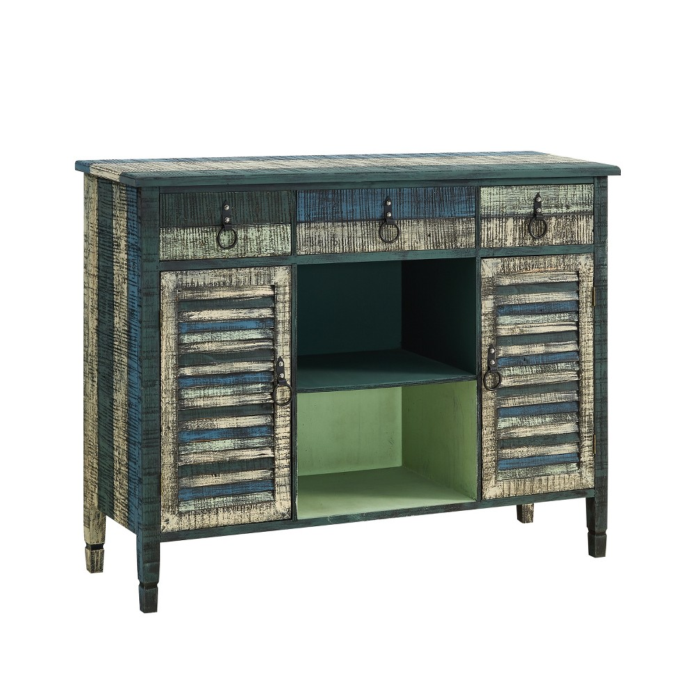 Marley Buffet Server Distressed - Powell Company