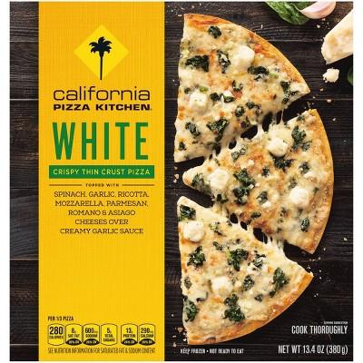 California Pizza Kitchen Crispy Thin Crust White Frozen Pizza - 13.4oz