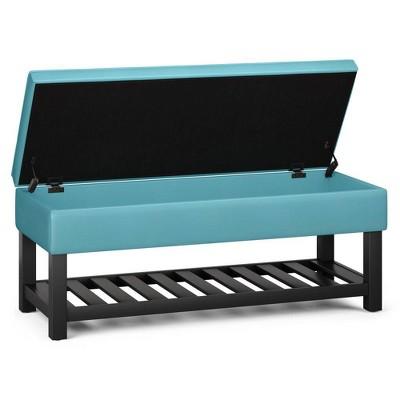 Essex Storage Ottoman Bench with Open Bottom - WyndenHall
