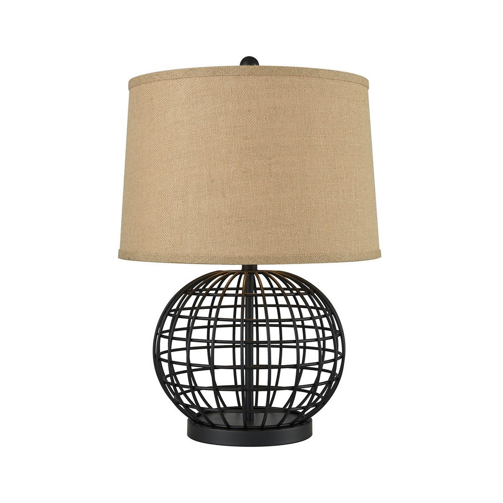 Image of Orbison Table Lamp Black (Includes Energy Efficient Light Bulb) - Pomeroy