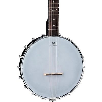 Dean Backwoods 5 String Satin Mini Banjo Black