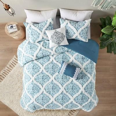 5pc Isadora Cotton Comforter Set