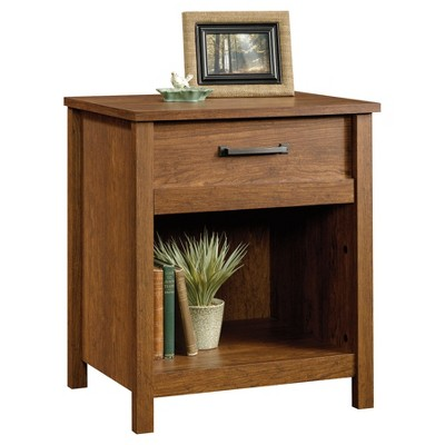 Cannery Bride Nightstand With Drawer And Storage Milled Cherry - Sauder
