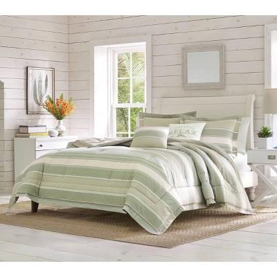 5pc Serenity Comforter & Sham Set Green -Tommy Bahama