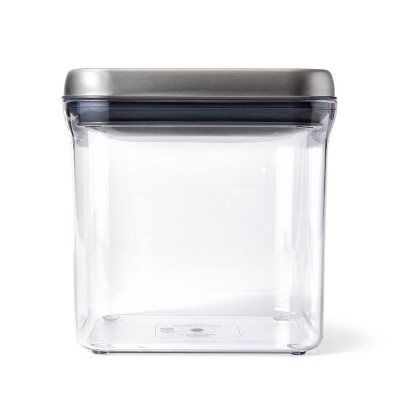 OXO 2.4qt SteeL POP Big Square Storage Container