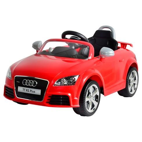 Kid Motorz 6V Audi TT RS Powered Ride-On - Red - image 1 of 1