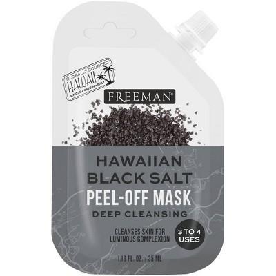 Freeman Exotic Blend Hawaiian Black Salt Peel-Off Mask - 1.18 fl oz