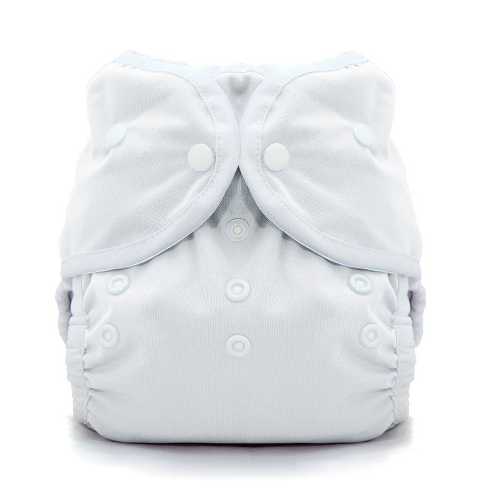 Thirsties Snap Duo Wrap White Size Two