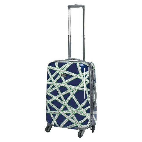 "Happy Chic by Jonathan Adler 21"" Hardside Spinner Carry On Suitcase - Navy/Green - image 1 of 5"